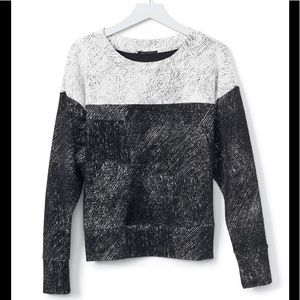 Banana Republic color-block Jacquard sweatshirt